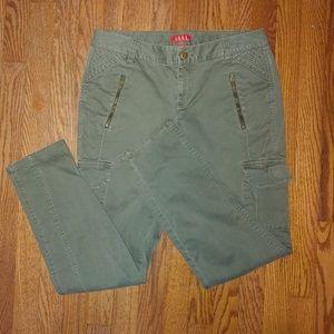 "Elle Army Green ""cargo"" Pants"